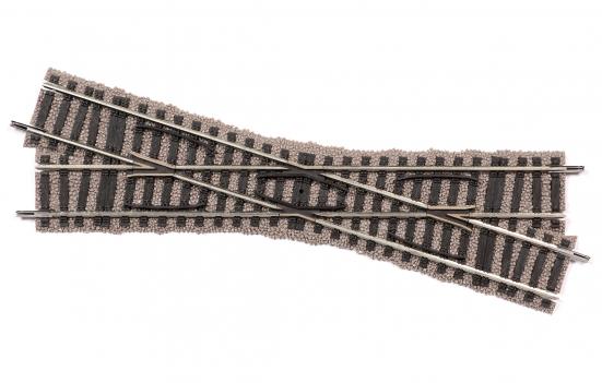 Fleischmann 6171 Normalweiche rechts für Handbetrieb Länge 200 mm.