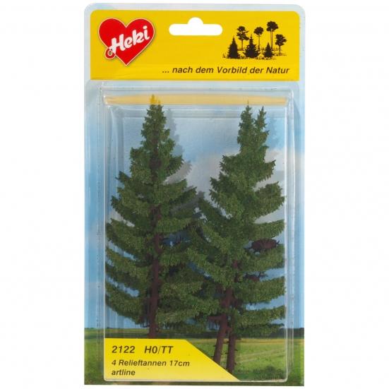 Tannen 7-18 cm + NEUHEIT 2019 HEKI 1957 Mischwald H0 20 Bäume