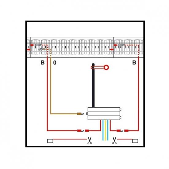 Märklin H0 74043 Signal-Anschlussgarnitur Lichtsignale//Formsignale C-Gleis NEU