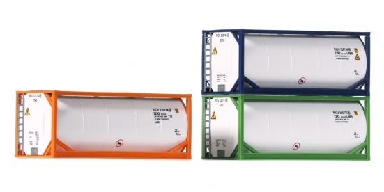 Roco 05216 H0 20' Tankcontainer 3er-Set