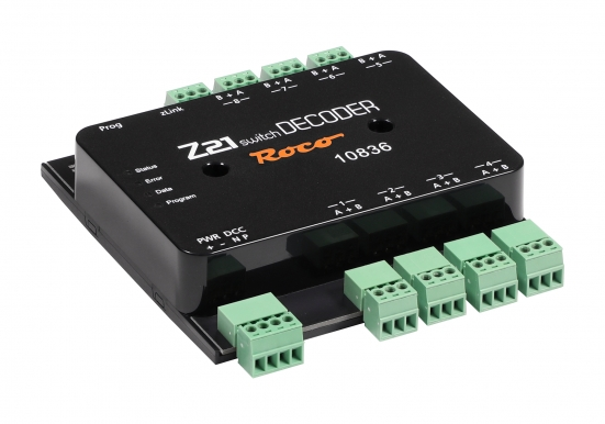 Roco 10836 Z21 switch DECODER für DCC