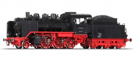 "Roco 62216 H0 Dampflokomotive 24 017, DB ""Digital+Sound"""
