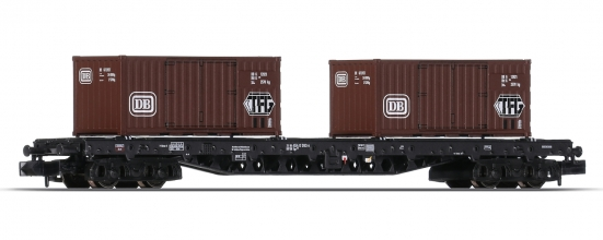 Minitrix 15961-03 N Containertragwagen der DB