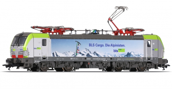 "Trix 22095 H0 E-Lok Re 493 der BLS Cargo ""Digital+Sound"""