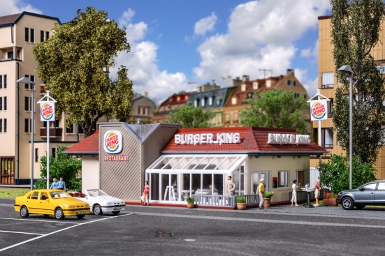 Vollmer 43632 H0 Burger King Schnellrestaurant