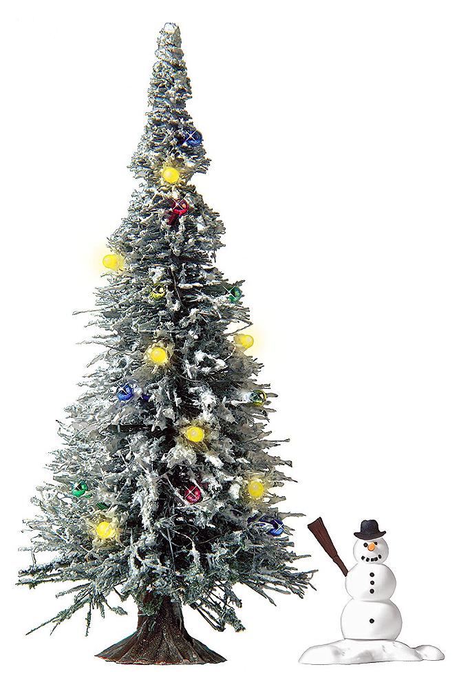 Erlebniswelt modellbahn busch 5409 h0 weihnachtsbaum mit led beleuchtung - Weihnachtsbaumdecke mit led beleuchtung ...