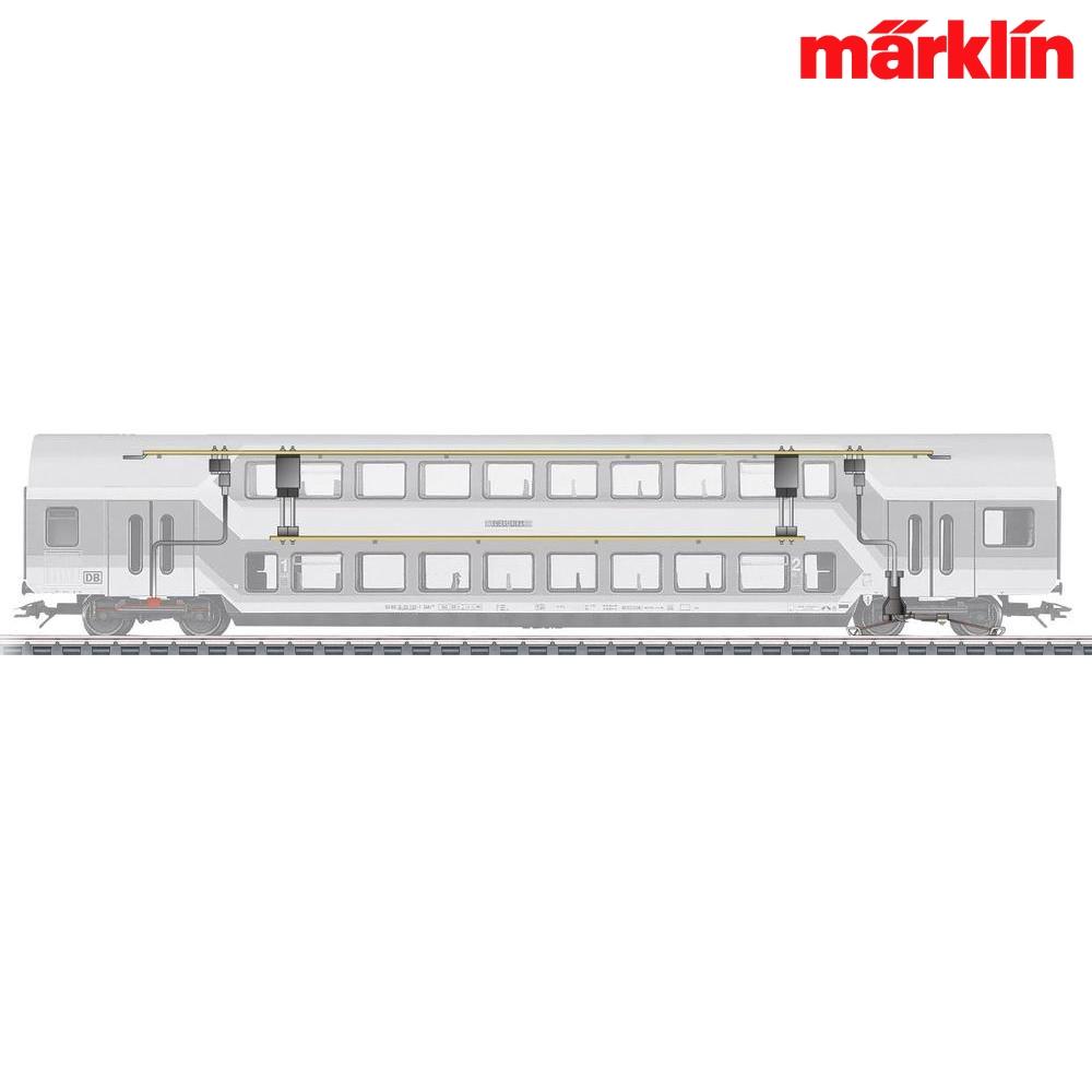 erlebniswelt modellbahn m rklin 73141 h0 led innenbeleuchtung doppelstockwagen. Black Bedroom Furniture Sets. Home Design Ideas