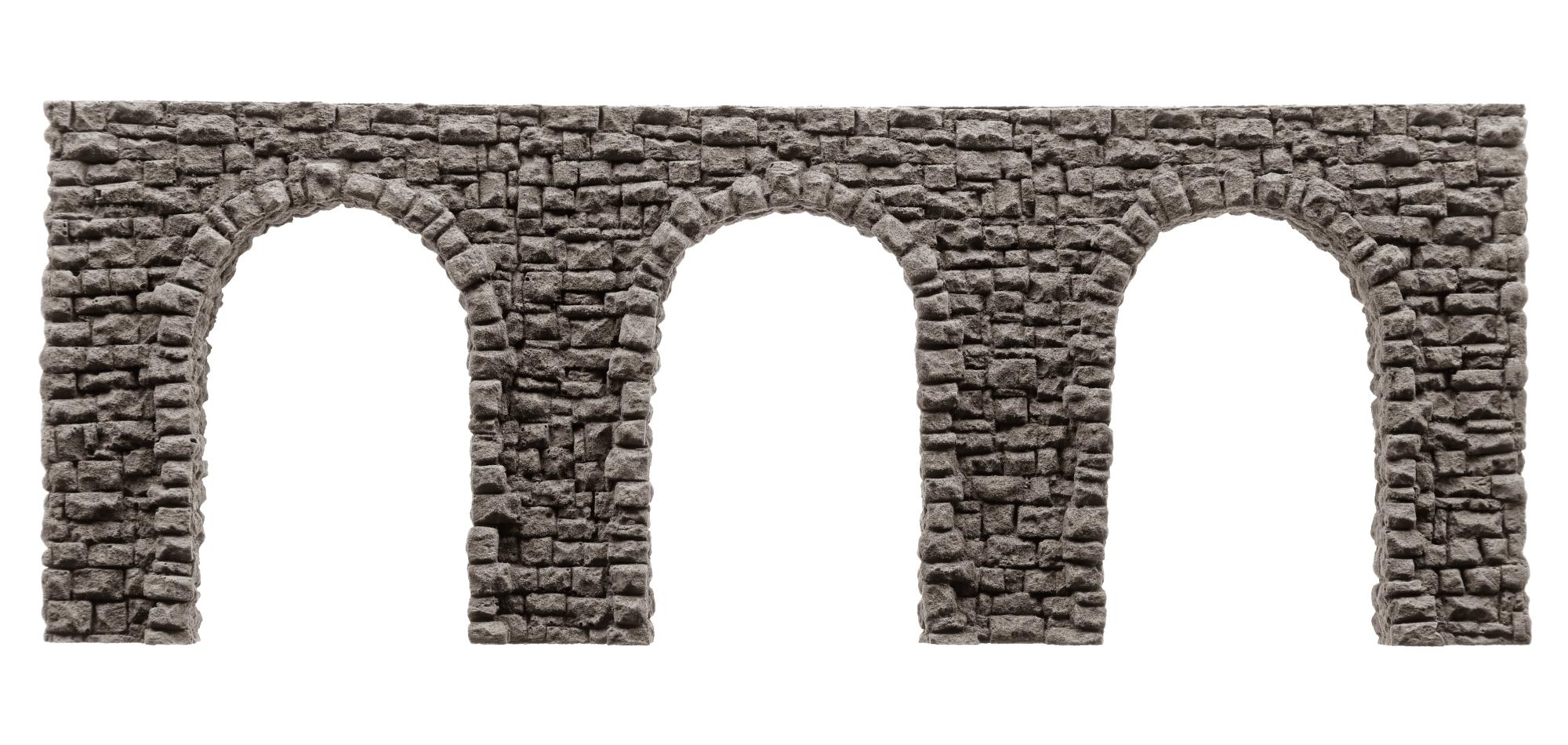 Noch 58260 Arkadenmauer Bruchstein 27x10 cm Neu