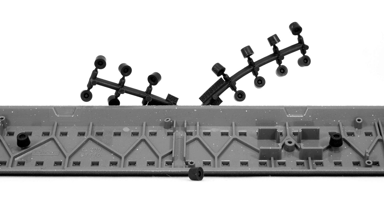NEU Roco H0 61181 GeoLine Dämpfungselemente 56 Stück