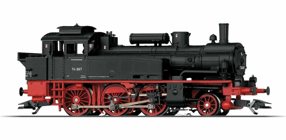"Märklin 36746 H0 Dampflok BR 74, DB ""Digital+Sound"""
