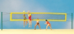 Preiser 10528 H0 Beach-Volleyball