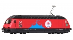 "Roco 70657 H0 E-Lok Re 460 058-1 ""Circus Knie"", SBB ""Digital+Sound"""