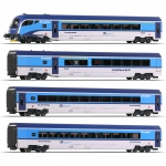 Roco 74143 H0 Personenwagen Railjet, CD 4er-Set