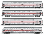 Minitrix 15385 N IC-Doppelstockwagen, DB AG 4er-Set